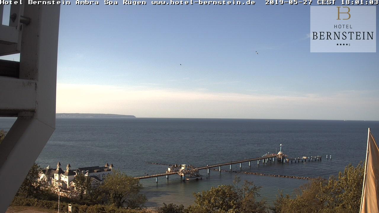 Webcam mit Blick auf die Selliner Seebrücke